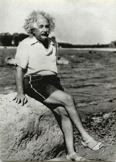 Einstein chillin'