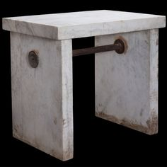 White Marble Lab Table :: Obsolete