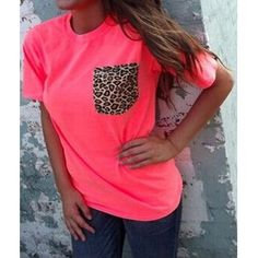 $9.06 Stylish Round Neck Short Sleeve Leopard Print Women's T-Shirt