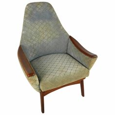 Mid-Century Modern Adrian Pearsall Style Armchair   From a unique collection of antique and modern armchairs at https://www.1stdibs.com/furniture/seating/armchairs/