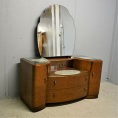 Vintage Dressing Table By Wrighton Furniture Art Deco Style Delivery Available