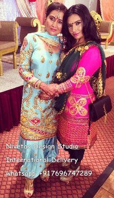Get this Beautifull punjabi Salwar Suit Made @nivetas visit us at https://www.facebook.com/punjabisboutique  email : nivetasfashion@gmail.com We deliver Internationally  #punjabiSuits #PunjabiSalwarSuit #Suits #boutiqueSuits