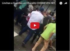 Linchan a dos funcionarios del régimen en Chacaíto