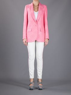 STELLA MCCARTNEY - brocade blazer 2