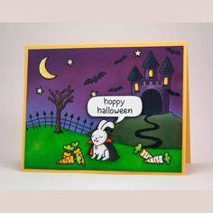 hoppy halloween | Lawn Fawn