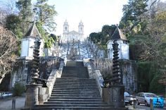 One of the most beautiful and sacred places of worship from Portugal is at Bom Jesus do Monte in Braga