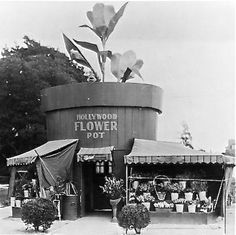 1920's Los Angeles Floral Shop http://oh-bee.blogspot.it/2014/07/another-roadside-attraction-vol-2.html