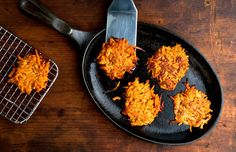 Sweet Potato and Apple Latkes With Ginger and Sweet Spices