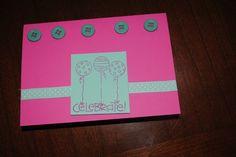 Celebrate Balloon Card