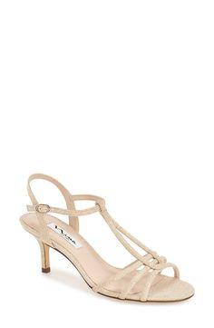 Nina  Charece  Glitter Sandal (Women) available at ea0ab3e3b94