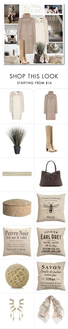 """Neutral Ground"" by easystyle ❤ liked on Polyvore featuring Loro Piana, Crate and Barrel, WALL, HAY, H&M, Missoni, Roberto Cavalli, Alexander McQueen, neutrals and polyvoreeditorial"