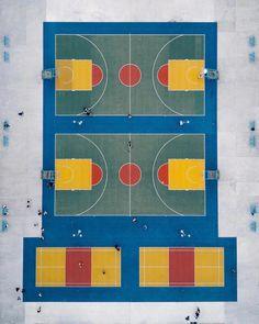 Used Basketball Hoop For Sale Basketball Park, Basketball Tricks, Basketball Rules, Public Space Design, Playground Design, Photoshop, Aerial Photography, Landscape Design, Cool Art