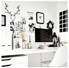 Monochrome work space