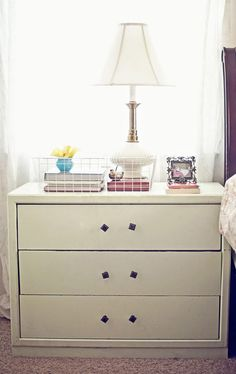 should I use a dresser instead of nightstand?