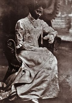 Educator Charlotte Hawkins Brown on her wedding day in 1912.  Founder of the historic Palmer Memorial Institute in North Carolina, Ms. Brown was also one of the invaluable suffragists who worked for black women to have the same equal rights black men and white women were fighting for in the early 20th century. #black_history