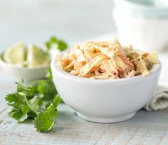 A summertime cookout just isn't complete without a creamy coleslaw. This side dish goes really well with our Fish Tacos, or a big slab of smoked ribs. The chipotle powder spices up this recipe without overwhelming it, though you're welcome to add more if you love spicy food! The smokiness of the ...