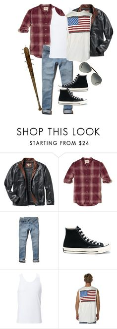 """American Bad-Boy"" by moose560 ❤ liked on Polyvore featuring TravelSmith, Hollister Co., Abercrombie & Fitch, Converse, Simplex Apparel, The People Vs, Ray-Ban, men's fashion and menswear"