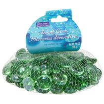 Bulk Crafters Square Green Accent Gems, 14-oz. Bags at DollarTree.com