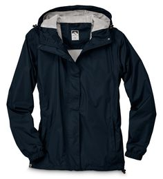 You'll be ready if there's rain in the forecast. The jacket is easy to pick up and bring along, and comfortable when you thrown it on. Waterproof Breathable Jacket, Packable Rain Jacket, Wet Weather, Plus Size Outfits, Nike Jacket, Windbreaker, Raincoat, Lady
