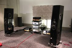Electroniques Esoteric & Vitus Audio, enceintes Tidal Agoria