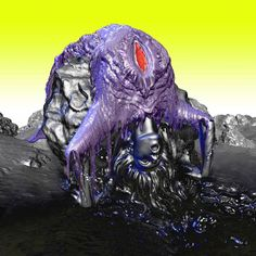 So this is the artwork for Björk's physical release of 'Vulnicura'
