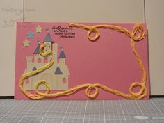 another page for my Disney challenge