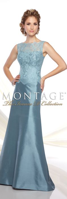 Montage The Ivonne D Collection Spring 2016 - Style No. 116D35 #eveninggowns