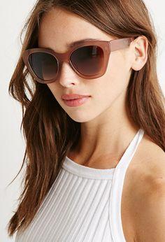 Classic Cat Eye Sunglasses   Forever 21