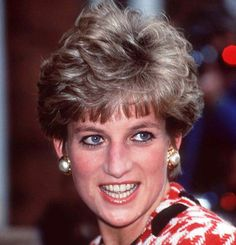 Princess Diana...This hair style reminds me of my hair...when my hairdresser cuts my bangs too short.