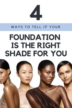 Knowing the difference between your skins undertone and skintone will ensure you snag the perfect shade of foundation for flawless makeup application. Beauty Tips For Face, Best Beauty Tips, Beauty Tricks, Beauty Secrets, Skin Care Regimen, Skin Care Tips, Skin Undertones, Daily Beauty Routine, Foundation Shade