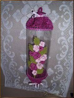 meireabade :www.meireabade.arteblog.com.br, puxa saco de garrafa pet