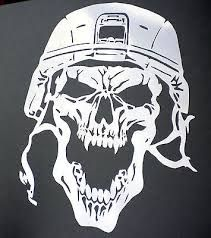 Image result for free skull stencils to print