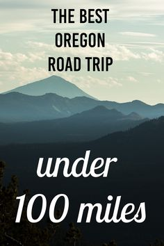The best Oregon Road Trip in Under 100 Miles. Crater Lake National Park, Watson Falls, Susan Creek Falls, Toketee Falls and more!
