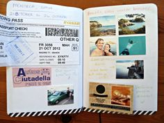 What to keep in your travel journal