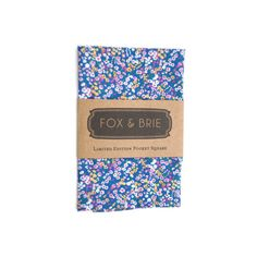 ForgetMeNot Floral Pocket Square by FoxandBrie on Etsy