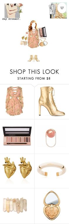 """I'll Be You 날 쥐고 있는 너 // 난 너의 칼에 입맞춰 // Best Of Me"" by fl04t1ng-0ce4n ❤ liked on Polyvore featuring Zimmermann, Cotton Candy, Jimmy Choo, L.A. Girl, LeiVanKash, StrangeFruit, Aurélie Bidermann and Too Faced Cosmetics"