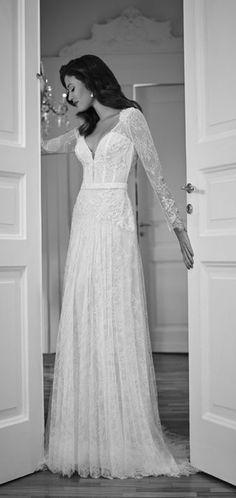 Wedding dress idea; Featured Dress: Signore Maison