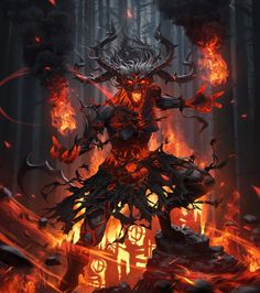 "spassundspiele: "" Witch 4 – fantasy/horror concept by Bryan Sola "" Dark Fantasy Art, Fantasy Artwork, Dark Art, Demon Artwork, Fantasy Witch, Monster Art, Fantasy Monster, Art Noir, Satanic Art"