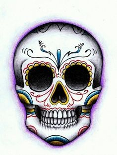 Mexican Skull - Smiling