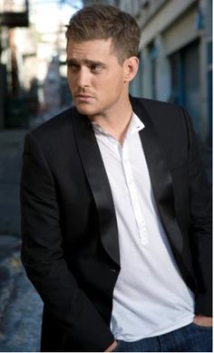 Michael Buble...love listening to his music.