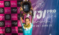 Congratulations Sally, winner of the 2014 #FijiPro!