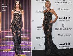 Heidi Klum was also at amfAR Milano 2015, joining Dakota Johnson and Naomi Campbell at La Permanente in Milan, Italy on Saturday (September 26). Like her f