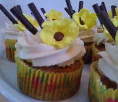 """longing for spring"" Cupcakes, Spring, Desserts, Food, Meal, Cupcake, Deserts, Essen, Hoods"