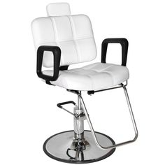white multi purpose salon chair electric reclining chairs nz 13 best images styling barber checker mp 61r w hair studio