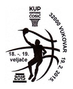 Sonderstempel Kroatien Kresimir Kosic Cup