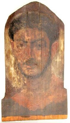 Mummy Portrait UC30082 -The Petrie Museum of Egyptian Archaeology, London.