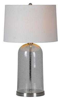 SHADED TABLE LAMPS :: Ceiling lights Toronto, Bath and vanity lighting, Chandelier lighting, Outdoor lighting and kitchen lights :: Union Troy Lighting, Vanity Lighting, Chandelier Lighting, Outdoor Lighting, Kitchen Lighting, Bathroom Lighting, Clear Glass Table Lamp, Exterior Lighting, Light Fixtures