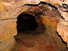 Devil's Cave. Red Oaks Nature Center, Batavia/North Aurora, IL