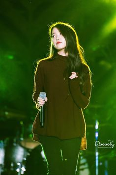 150919 IU at Melody Forest Camp Korean Actresses, Korean Actors, Actors & Actresses, Iu Fashion, Korean Fashion, Celebrity List, Celebrity Style, Kim Tae Hee, Girl Day