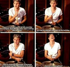 NIALL IS SO ADORABLE HOW COULD YOU NOT LOVE HIM